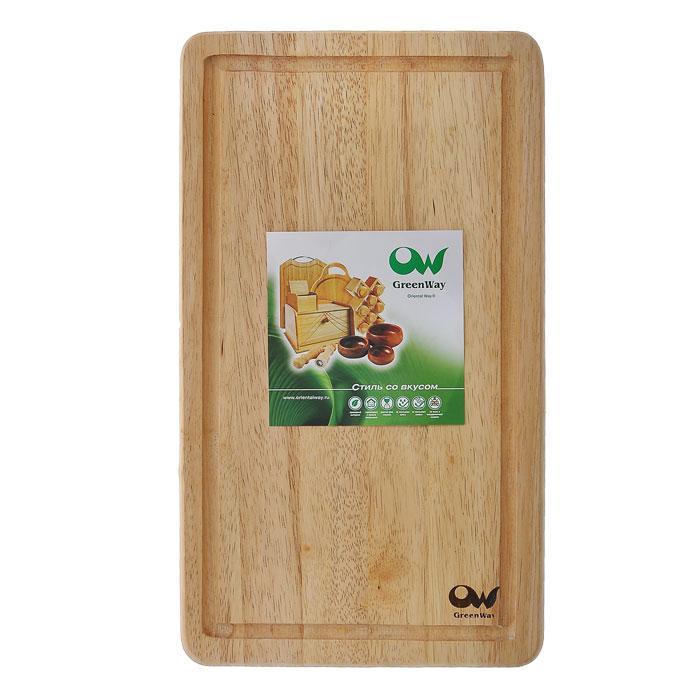Доска разделочная Oriental way, 23 х 40 см9/627Прямоугольная разделочная доска Oriental way изготовлена из высококачественной древесины гевеи. Доска имеет углубление для стока жидкости. Прекрасно подходит для приготовления и сервировки пищи.Особенности разделочной доски Oriental way: высокое качество шлифовки поверхности изделий двухслойное покрытие пищевым лаком, безопасным для здоровья человека степень влажности 8-10%, не трескается и не рассыхается высокая плотность структуры древесины устойчива к механическим воздействиям. Характеристики:Материал: дерево (гевея). Размер: 23 см х 40 см х 1,5 см. Артикул: 9/627. Торговая марка Oriental way известна на рынке с 1996 года. Эта марка объединяет товары для кухни, изготовленные из дерева и других материалов. Все товары марки Oriental way являются безопасными для здоровья, экологичными, прочными и долговечными в использовании.