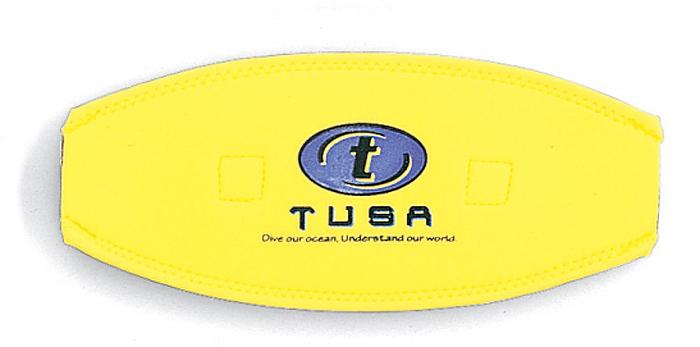 Чехол для ремня маски Tusa, цвет: желтый