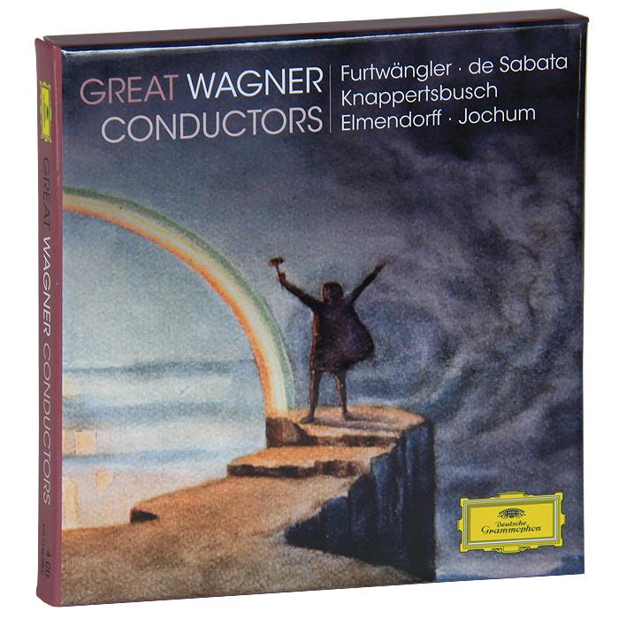 Munchner Philharmoniker,Ханс Кнаппертсбуш,Berliner Philharmoniker,Вильгельм Фуртвенглер Wagner. Conductors (4 CD) münchner philharmoniker elbphilharmonie hamburg