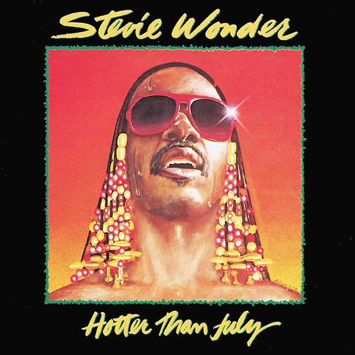 Стиви Уандер Stevie Wonder. Hotter Than July стиви уандер stevie wonder the definitive collection