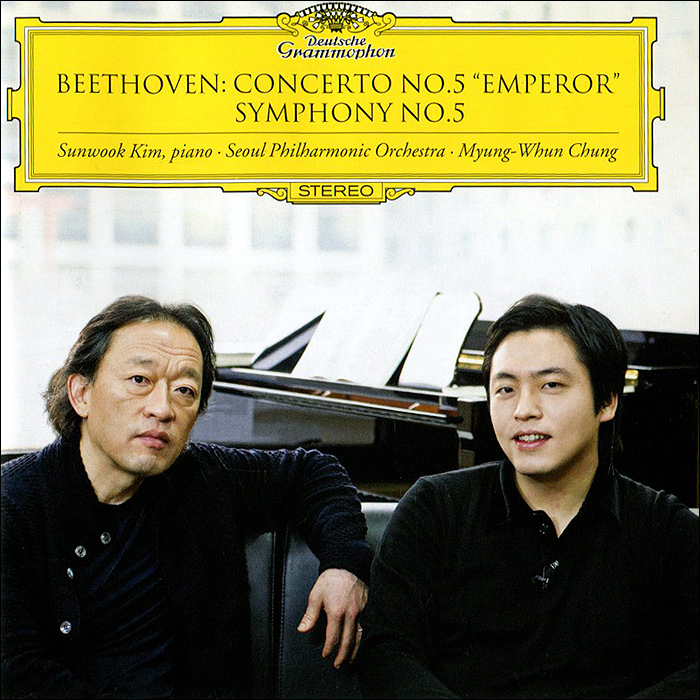 Мюнг-Вун Чунг,Санвук Ким,Seoul Philharmonic Orchestra Myung-Whun Chung. Beethoven. Concerto No.5 Emperor. Symphony No.5 j walk fan meeting seoul