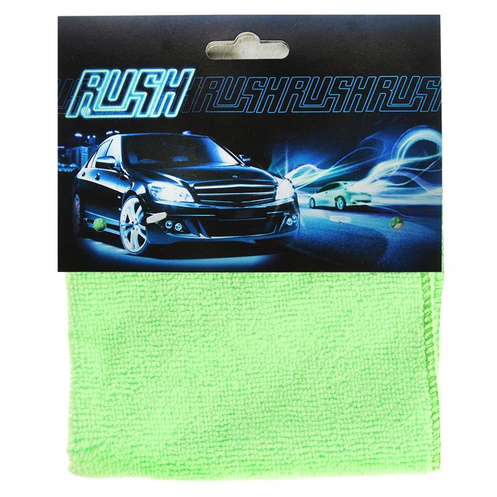 Салфетка автомобильная EvaAuto, универсальная, цвет: светло-зеленый, 35 х 35 смТ08Универсальная автомобильная салфетка EvaAuto, выполненная из микрофибры, идеально подходит для уборки. В сухом виде применяется для вытирания пыли и легких загрязнений, во влажном - для удаления загрязнений с любых поверхностей без применения моющих средств. Не оставляет разводов и ворсинок, полностью впитывает влагу. Сохраняет эффект даже после многократных стирок. Размер салфетки: 30 х 30 см.