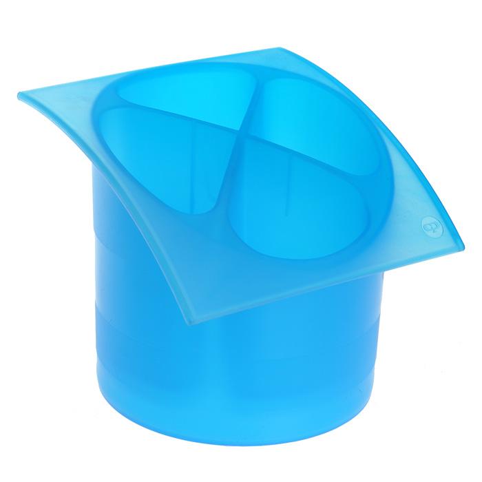 Подставка для столовых приборов Cosmoplast, диаметр 14 см лоток для столовых приборов cosmoplast 6 отделений цвет голубой