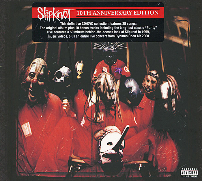 Slipknot Slipknot. 10th Anniversary Edition (CD + DVD) carl perkins & friends blue suede shoes a rockabilly session 30th anniversary edition cd dvd