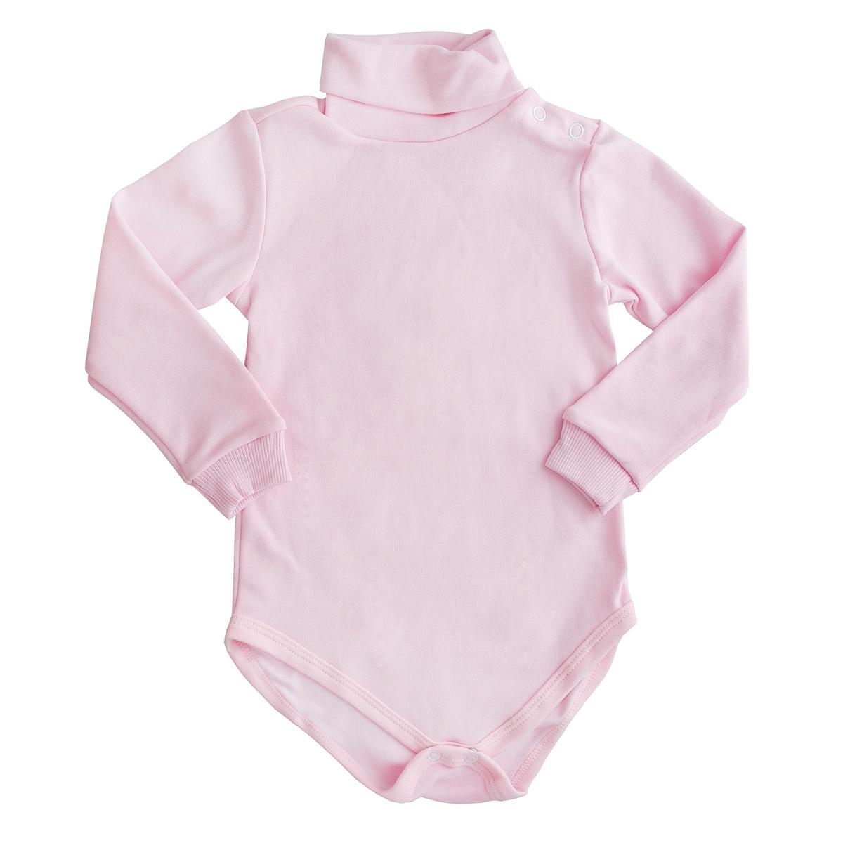 Боди детское Фреш стайл, цвет: розовый. 37-328. Размер 80, 12 месяцев37-328Яркое боди Фреш Стайл идеально подойдет вашему ребенку в теплое или прохладное время года. Изготовленное из эластичного хлопка, оно необычайно мягкое и приятное на ощупь, не сковывает движения ребенка и позволяет коже дышать, не раздражает даже самую нежную и чувствительную кожу, обеспечивая ему наибольший комфорт.Боди с длинными рукавами и воротником-стойкой застегивается на удобные застежки-кнопки на воротнике, по плечу и ластовице, которые помогают легко переодеть младенца или сменить подгузник. Края рукавов дополнены широкими эластичными манжетами, не сжимающими запястья ребенка.Оригинальный современный дизайн и модная расцветка делают это боди модным и стильным предметом детского гардероба. В нем ваш ребенок будет чувствовать себя уютно и комфортно и всегда будет в центре внимания!