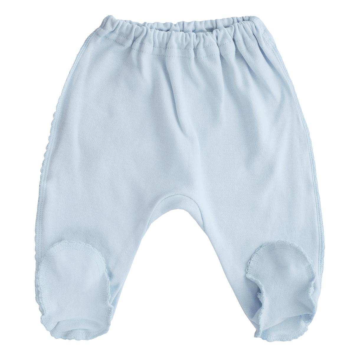Ползунки Фреш стайл, цвет: голубой. 37-506н. Размер 5637-506нПолзунки с закрытыми ножками Фреш Стайл послужат идеальным дополнением к гардеробу малыша. Ползунки, изготовленные из интерлок-пенье - натурального хлопка, необычайно мягкие и легкие, не раздражают нежную кожу ребенка и хорошо вентилируются, а выполненные наружу швы приятны телу малыша и не препятствуют его движениям.Ползунки на резинке - очень удобный и практичный вид одежды для малышей, которые уже немного подросли.