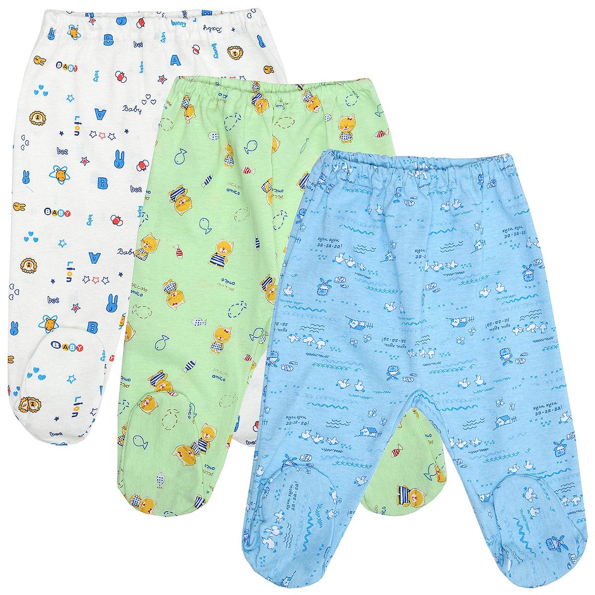 Комплект ползунков для мальчика Фреш стайл, 3 цвета, 3 шт. 10-506м. Размер 68, 6 месяцев10-506мКомплект Фреш Стайл состоит из трех ползунков для мальчика разных цветов с забавными рисунками.Ползунки - очень удобный и практичный вид одежды для малышей. Отлично сочетаются с футболками, кофточками и боди. Ползунки с закрытыми ножками выполнены из натурального хлопка, благодаря чему они необычайно мягкие и приятные на ощупь, не раздражают нежную кожу ребенка и хорошо вентилируются. Ползунки очень удобные, свободные, с мягкой резинкой на талии. Идеально подходят для ношения с подгузником и без него.Современный дизайн и яркая расцветка делают этот комплект оригинальным и стильным предметом детского гардероба.УВАЖАЕМЫЕ КЛИЕНТЫ! Обращаем ваше внимание на возможные изменения в дизайне, связанные с ассортиментом продукции: рисунок и цветовая гамма могут отличаться от представленного на изображении. Возможные варианты рисунков и цветов представлены на отдельном изображении фрагментом ткани.