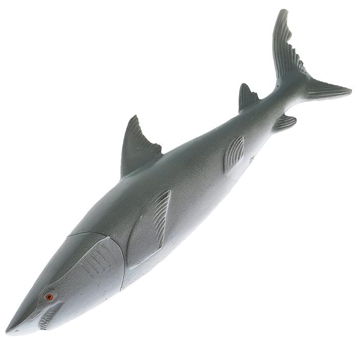 Ручка шариковая Акула. 46207702084664620770208466Оригинальная ручка, выполненная из пластика в виде акулы, несомненно, удивит вас своим дизайном. Такая ручка станет отличным подарком и незаменимым аксессуаром, который будет радовать вас каждый день. Характеристики:Материал: пластик. Длина ручки: 13 см. Ширина ручки: 2,5 см. Цвет чернил: синий. Артикул: 4620770208466.