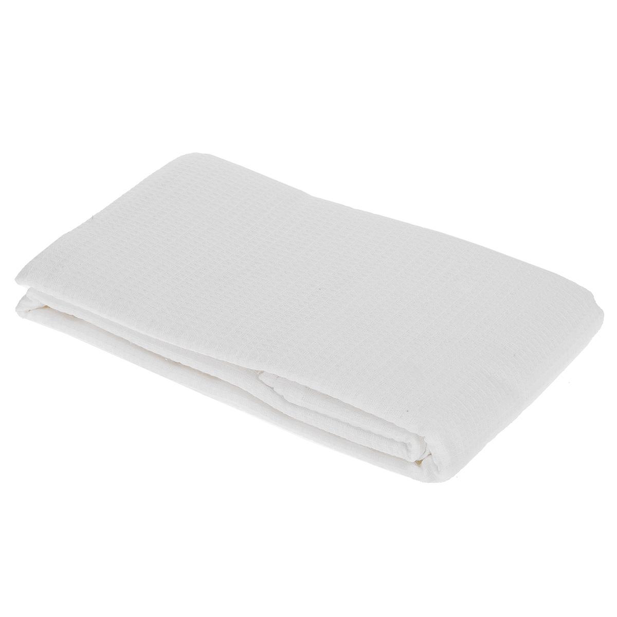 """Полотенце-простыня для бани и сауны """"Банные штучки"""", цвет: белый, 80 см х 150 см"""