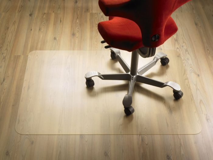 "Защитный коврик ""ClearStyle"", PET, для гладкой поверхности, 92 см х 92 см, Clear Style"