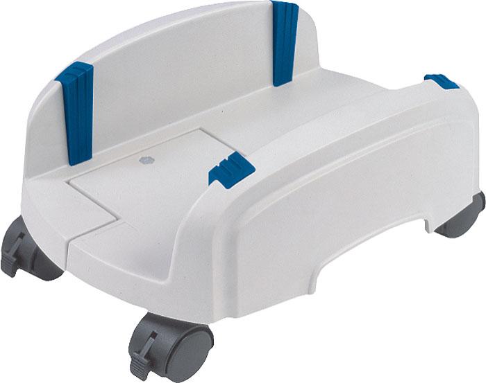 Подставка под системный блок ProfiOffice, цвет: светло-серый07142Подставка под системный блок ProfiOffice выполнена из прочного пластика и оснащена удобными колесиками, что позволяет без труда перемещать даже тяжелый системный блок.Подставка развижная, оборудована резиновыми фиксаторами, которые помогают надежно зафиксировать блок на подставке. Ширина захвата регулируется от 15,5 см до 25,5 см. Для предотвращения нежелательного перемещения на колесиках предусмотрен стопор.Компания ProfiOffice основана в Германии в 2000 году как общество с ограниченной ответственностью. Производит продукцию под одноименной торговой маркой. ProfiOffice идет в ногу со временем, предлагая своему клиенту оборудование, объединяющее традиционно немецкое качество и прогрессивные современные технологии, тем самым, выполняя миссию компании - сделать рабочее место как можно более эффективным. Широкий ассортимент, качество и надежность, длительная гарантия и грамотные консультации, полный комплекс услуг и товаров во многих магазинах мира, открытость - вот киты, на которых компания ProfiOffice строит свой бизнес и свой успех.