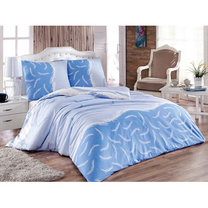 Комплект белья Tete-a-tete Форса (евро КПБ, сатин, наволочки 70х70), цвет: голубой, синийТ-8015_евроКомплект постельного белья Форса является экологически безопасным для всей семьи, так как выполнен из натурального хлопка. Комплект состоит из пододеяльника, простыни и двух наволочек. Постельное белье оформлено оригинальным рисунком и имеет изысканный внешний вид.Сатин - производится из высших сортов хлопка, а своим блеском, легкостью и на ощупь напоминает шелк. Такая ткань рассчитана на 200 стирок и более. Постельное белье из сатина превращает жаркие летние ночи в прохладные и освежающие, а холодные зимние - в теплые и согревающие. Благодаря натуральному хлопку, комплект постельного белья из сатина приобретает способность пропускать воздух, давая возможность телу дышать. Одно из преимуществ материала в том, что он практически не мнется и ваша спальня всегда будет аккуратной и нарядной. Характеристики: Производитель: Турция. Материал: сатин (100% хлопок). Размер упаковки: 27,5 см х 36,5 см х 8,5 см. В комплект входят: Пододеяльник - 1 шт. Размер: 200 см х 220 см. Простыня - 1 шт. Размер: 220 см х 240 см. Наволочка - 2 шт. Размер: 70 см х 70 см.Советы по выбору постельного белья от блогера Ирины Соковых. Статья OZON Гид