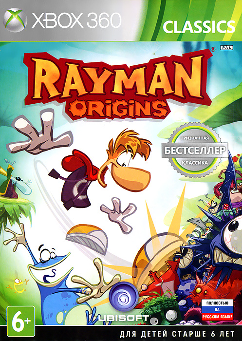 Rayman Origins. Classics (Xbox 360) купить игры лицензионные на xbox 360