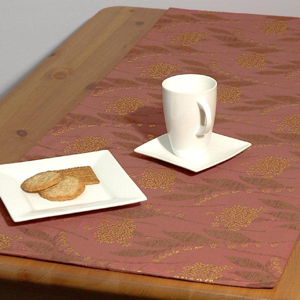 Дорожка для декорирования стола Schaefer, прямоугольная, цвет: терракотовый, 43 x 135 см06030-285Прямоугольная дорожка Schaefer выполнена из сочетания полиэстера, вискозы и акрила с цветочным орнаментом. Благодаря такой дорожке вы защитите поверхность стола от воды, пятен и механических воздействий, а также создадите атмосферу уюта и домашнего тепла в интерьере вашей кухни. Характеристики:Материал: 46% акрил, 34% вискоза, 30% полиэстр. Размер:43 см х 135 см. Артикул:06030-285. Немецкая компания Schaefer создана в 1921 году. На протяжении всего времени существования она создает уникальные коллекции домашнего текстиля для гостиных, спален, кухонь и ванных комнат. Дизайнерские идеи немецких художников компании Schaefer воплощаются в текстильных изделиях, которые сделают ваш дом красивее и уютнее и не останутся незамеченными вашими гостями. Дарите себе и близким красоту каждый день! УВАЖАЕМЫЕ КЛИЕНТЫ! Обращаем ваше внимание, что в комплектацию товара входит только дорожка на стол, остальные предметы служат лишь для визуального восприятия товара.