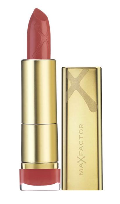 Max Factor Помада для губ Colour Elixir, тон №825 (Pink Brandy), 3,5 г81279055Секрет помады Max Factor Colour Elixir в том, что она на 60% состоит из уникального комплекса Elixir - масло ши, авокадо, алое, белый чай - эта формула увлажняет губы, делает кожу гладкой и дарит комфорт вашим губам. В составе присутствует витамин E, который разглаживает кожу губ и нежно ухаживает за ними. Палитра оттенков очень разнообразна - розовые, лиловые, красные, коричневые. Вы можете подобрать именно тот цвет, который гармонирует с вашим макияжем или стилем одежды. Эффект от использования губной помады Color Elixir - разглаженные, увлажненные, ухоженные красивые губки. Помада Color Elixir идеально наносится и стойко держится, даря ощущение шелка на губах. Помада упакована в роскошный золотой футляр.Товар сертифицирован.