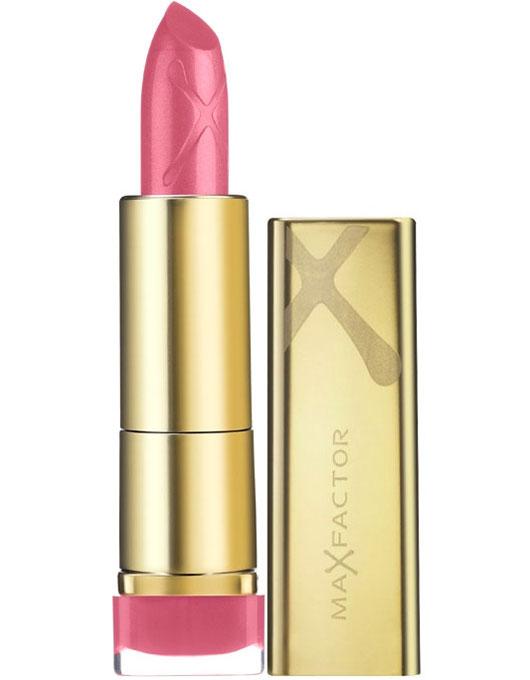 Max Factor Помада для губ Colour Elixir, тон №510 (English Rose), 3,5 г81279041Великолепный цвет в одно мгновение, более гладкие, мягкие губы по сравнению с ненакрашенными губами- такой эффект помады от MaxFactor ColourElixir сохраняется в течение длительного времени. Роскошный и великолепный цвет на гладких, красивых губах! Формула Elixir на 60% состоит из смягчающих кожу компонентов, восстановителей и антиоксидантов, включая витамин E, зрительно преображает губы и делает их мягче всего за 7 дней. После нанесения ColourElixir помада активно увлажняет и смягчает губы.На 60% состоит из смягчающих компонентов, восстановителей и антиоксидантов, включая витамин E. Дерматологически тестировано.Нанеси помаду на кисточку для помады. Накрась с помощью кисточки губы. Промокни губы салфеткой и нанеси еще один слой. Чтобы помада держалась на губах дольше, нанеси между слоями полупрозрачную пудру.