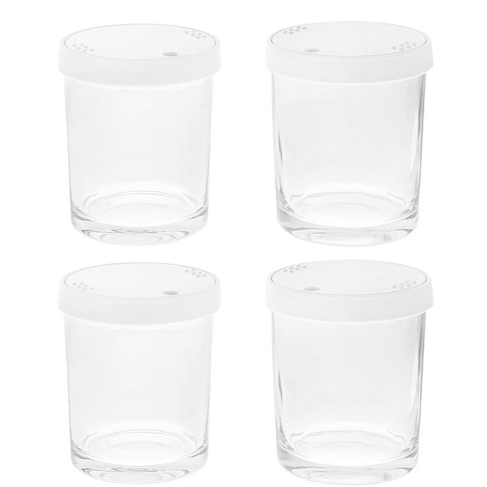 Brand стеклянные стаканчики к йогуртнице 4011, 4 шт brand стеклянные стаканчики к йогуртнице 4011 4 шт