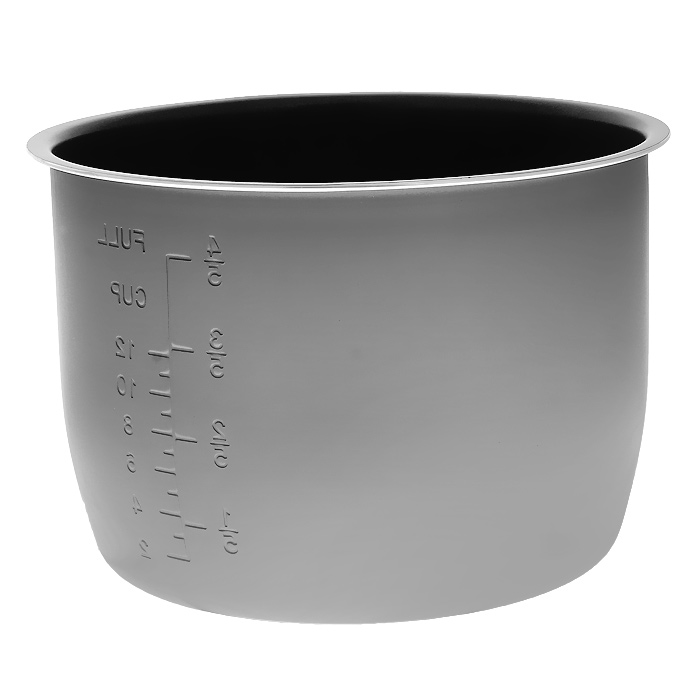 Brand чаша для коптильни 60606060чЧаша с антипригарным покрытием для коптильни-скороварки Brand 6060 (без нагревательного элемента). Объем: 6 л Диаметр: 22 см Внутренняя шкала объема
