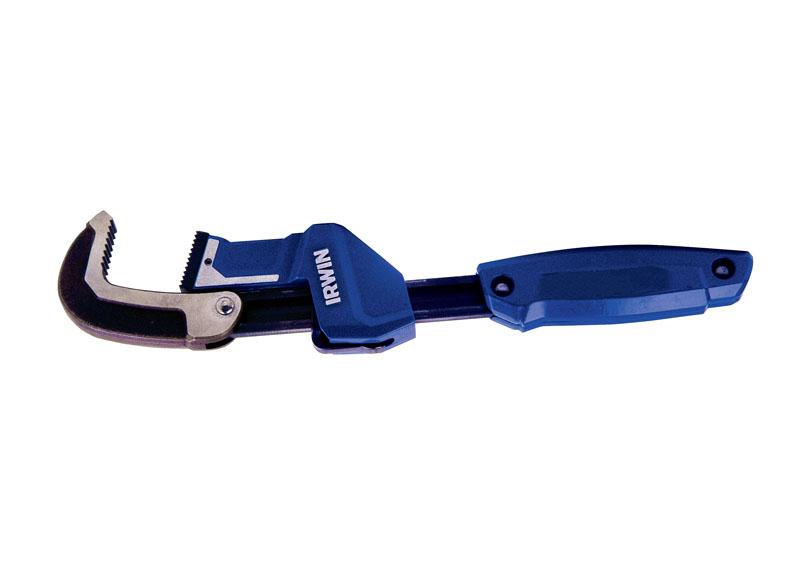 Универсальный разводной ключ Irwin, 0-58 мм10503642Универсальный разводной ключ Irwin идеально подходит к трубному диаметру до 58 мм. Зубцы губок (тиски) наиболее подходящие для большинства поверхностей, включая черную, оцинкованную, PVC, медную трубу, также болты и другие соединения. Быстрый зажим - операция, проводимая всего одной рукой, ускоряет процесс работы. Плавное отжатие после завершения. Алюминиевая конструкции. Эргономичная конструкция идеальна для максимального вращающего момента и комфорта. Кованный захват. Характеристики: Материал: металл. Максимальный зажим: 5,8 см. Размер упаковки: 40 см х 8 см х 3 см.