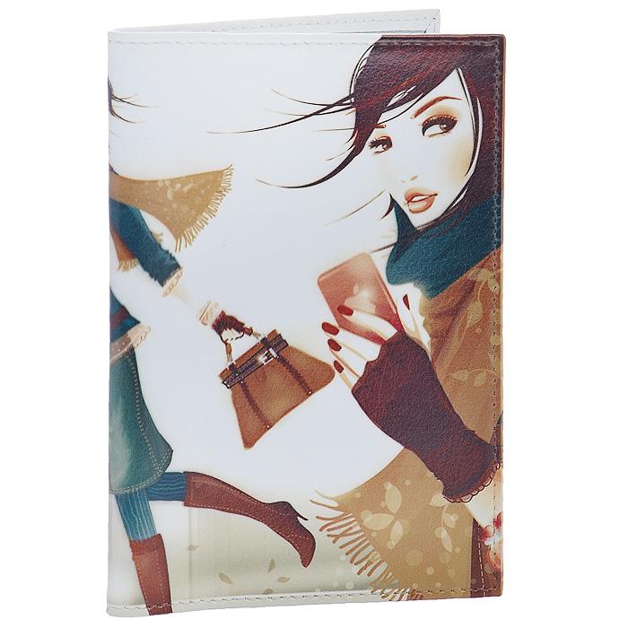 Обложка для паспорта Perfecto Девушка с айфоном. PS-GL-0044PS-GL-0044Стильная обложка для паспорта Девушка с айфоном выполнена из натуральной кожи и оформлена ярким принтом. На внутреннем развороте - два кармашка из прозрачного пластика. Обложка не только поможет сохранить внешний вид ваших документов и защитит их от повреждений, но и станет стильным аксессуаром, который подчеркнет ваш неповторимый стиль. Характеристики:Материал: натуральная кожа, пластик. Размер обложки: 9,5 см х 13,7 см. Артикул: PS-GL-0044.