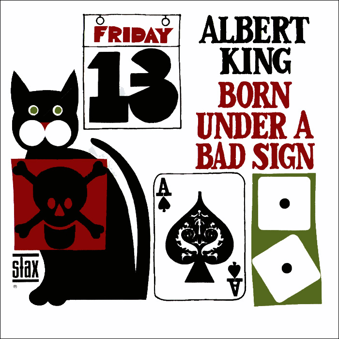 Альберт Кинг Albert King. Born Under A Bad Sign альберт кинг стиви рэй воэн albert king stevie ray vaughan in session deluxe edition cd dvd
