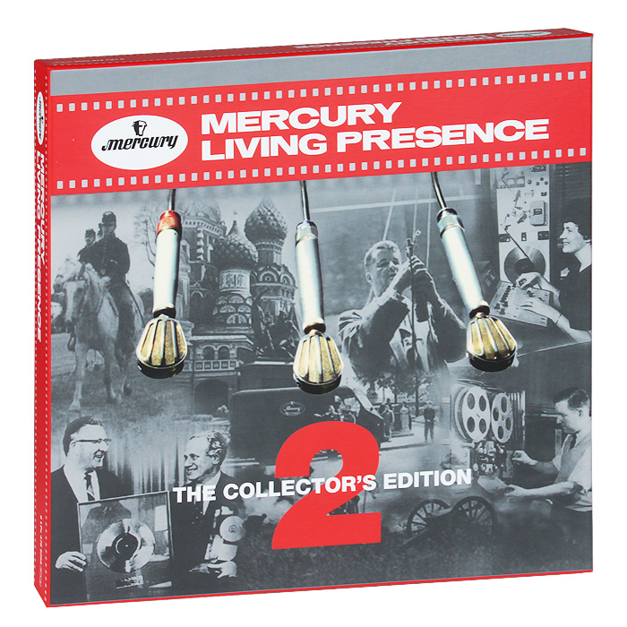 Mercury Living Presence. The Collector's Edition 2 (6 LP) space deliverance limited edition glow in the dark vinyl lp