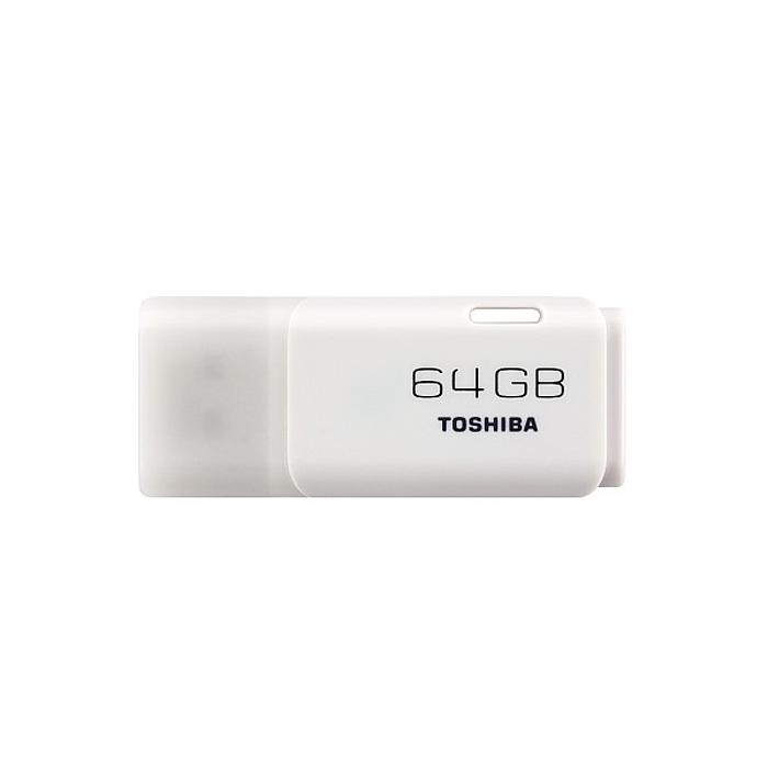 Toshiba TransMemory 64GB, White (THNU64HAY(BL5)