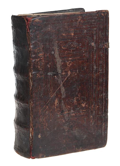 Учительное ЕвангелиеFILTER 004Редкость. Издание 1652 года. Уже в 1813 году в каталоге В. Сопикова книга была отмечена как редкость. Старинный цельнокожаный тисненый переплет на деревянной основе, бинтовой корешок, металлические застежки. Сохранность хорошая. Некоторые страницы отреставрированы. Временные пятна и потеки.Текст на церковнославянском языке, украшен заставками, буквицами, концовками. Двухцветная печать. Евангелие учительное представляет собой сборник поучений, основанных на текстах Евангелий и ряда других канонических сочинений и предназначенных для воскресного (недельного) душеспасительного чтения.Издание не подлежит вывозу за пределы Российской Федерации.