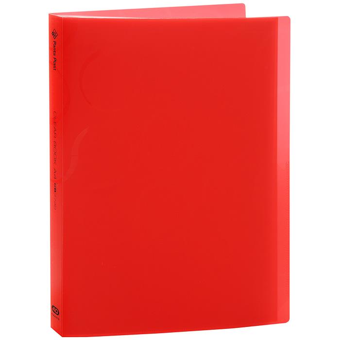Папка с файлами Omega, 40 листов, цвет: красный0410-0033-05Папка Omega с 40 прозрачными файлами-вкладышами идеально подходит для хранения рабочих бумаг идокументов формата А4 без перфорации, требующих упорядоченности и наглядного обзора: отчетов, презентаций, коммерческих и персональных портфолио. Папка выполнена из полупрозрачного жесткого пластика красного цвета с узорами. Благодаря совершенной технологии производства папка не подвергается воздействию низкой температуры, не деформируется и не ломается при изгибе и транспортировке. Характеристики:Вместимость: 40 вкладышей. Размер: 23,5 см х 30,5 см х 2,5 см.