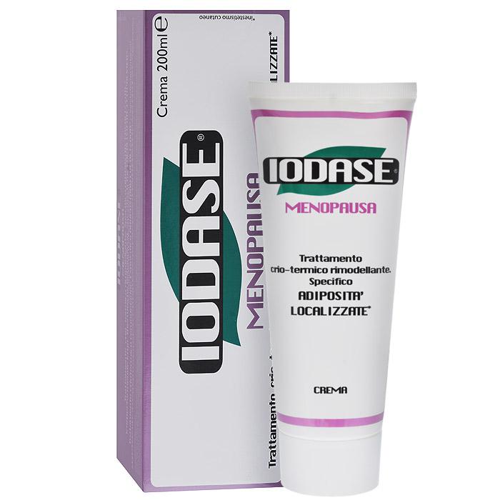 Iodase Крем для тела Menopausa, 200 млА931436341Новая линия ультра содержит новый запатентованный комплекс Fosfaslim (фосфатидилхолин+ацетилгегсапептид-39) и генистеин, что позволяет успешно бороться с уже сформировавшимися жировыми отложениями и препятствовать образованию новых. В линии присутствует кофеин, что позволяет усилить действие продуктов линии, так как известно, что кофеин обладает отличным тонизирующим и моделирующим действием.Карнитин, который есть в составе линии - это натуральный компонент наших клеток: аминокислота, которая синтезируется в нашем организме. Карнитин является фактором метаболических процессов (обмена веществ), используется для коррекции метаболических процессов, активирует жировой обмен в адипоцитах.Ацетилгегсапептид-39 тонизирует и укрепляет кожу. Рекомендован женщинам с чувствительной кожей (в случае аллергических реакций на йод).Применение:ежедневно наносить крем наживот и бока массажными круговыми движениями. Покраснение и разогрев свидетельствуют об активации основных элементов крема. Использовать утром и вечером не менее 1 месяца. Поддерживающий курс - использовать крем 1 раз в день. Характеристики:Объем: 200 мл. Производитель: Италия. Товар сертифицирован.