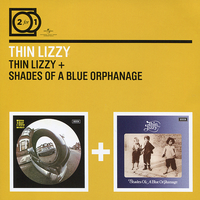 Thin Lizzy Thin Lizzy. Thin Lizzy / Shades Of A Blue Orphanage (2 CD) thin lizzy thin lizzy jailbreak deluxe expanded edition 2 cd