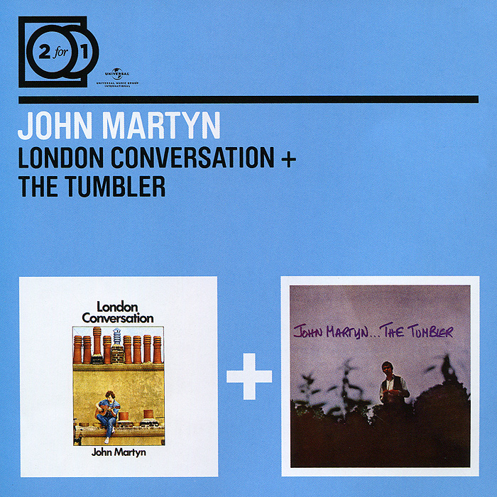 Джон Мартин John Martyn. London Conversation / The Tumbler (2 CD) цена и фото