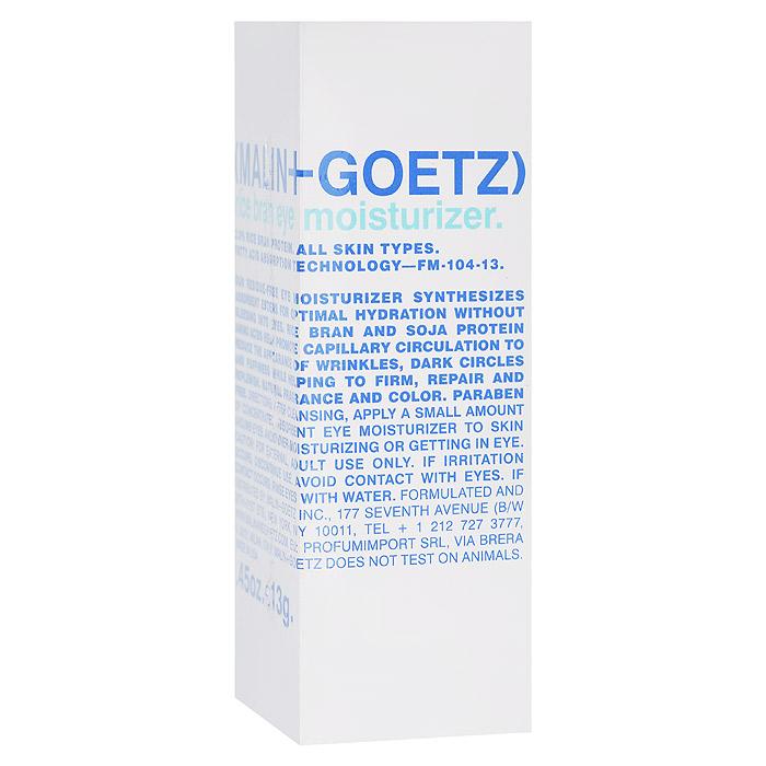 Malin+Goetz Крем для области вокруг глаз Рисовые отруби, увлажняющий, 13 гMG062Увлажняющий крем для области вокруг глаз Malin+Goetz Рисовые отруби не содержит масел и сочетает питательные свойства эфиров рисовых отрубей и протеинов аминокислот сои, оказывая восстанавливающее и длительное увлажняющее действие днем и ночью. Укрепляет кожу, разглаживает морщины, усиливает капиллярное кровообращение, устраняя отечность и темные круги под глазами. Мгновенно впитывается, не растекаясь и не вызывая раздражение глаз, в том числе сверхчувствительных глаз. Подходит для всех типов кожи. Имеет удобную для путешествий и гигиеничнуюупаковку. Характеристики:Вес: 13 г. Производитель: США. Товар сертифицирован.