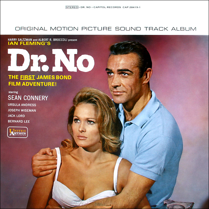 Dr. No. Original Motoin Picture Sound Track Album (LP) black girl original sound track recording