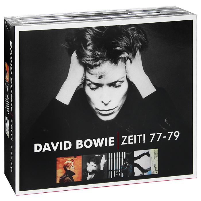 Дэвид Боуи,Брайан Ино,Карлос Аломар David Bowie. Zeit! 77 - 79 (5 CD) cd диск david bowie let s dance 1 cd