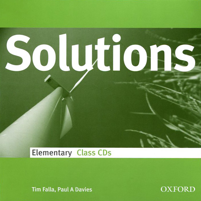 Solutions: Elementary: Class CDs (аудиокурс на 3 CD) welcome starter a class cd для занятий в классе cd