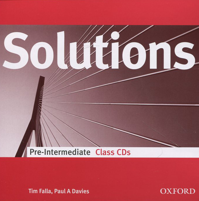 Solutions: Pre-intermediate: Class Audio CDs (аудиокурс на 2 CD) soars l new headway upper intermediate class audio cds 4th edition