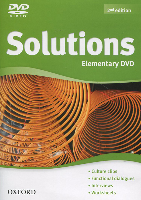 Solutions: Elementary DVD-ROM emmerson p the business 2 0 advanced teachers book c1 dvd rom