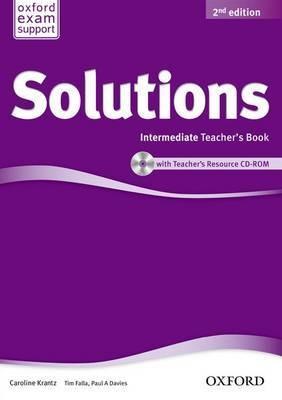 SOLUTIONS 2ED INT TB & CD-ROM PACK solutions 2ed elem cl cd 3