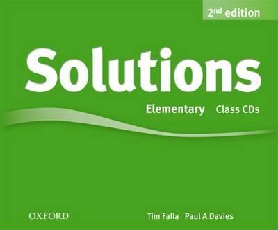 SOLUTIONS 2ED ELEM CL CD (3) год до школы от а до я тетрадь по подготовке к школе