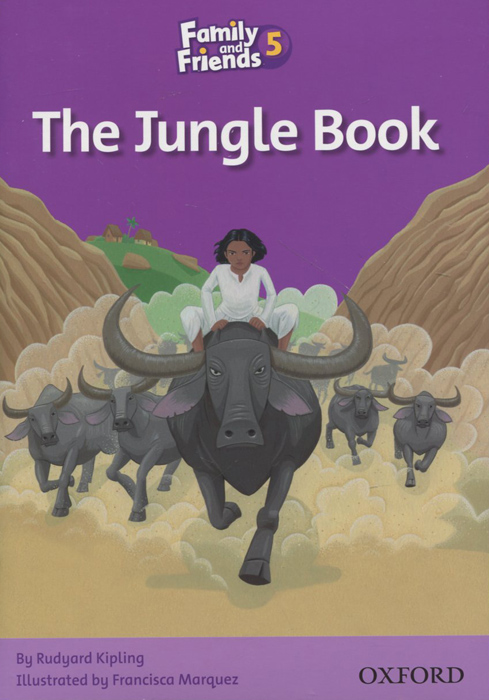 Family and Friends 5: The Jungle Book family and friends readers 4 the lost world