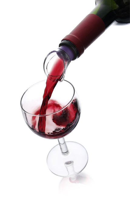 Набор каплеуловителей VacuVin Wine Server, цвет: розовый, фиолетовый, 2 шт набор vacuvin double pestle & mortar пестик двухсторонняя ступка