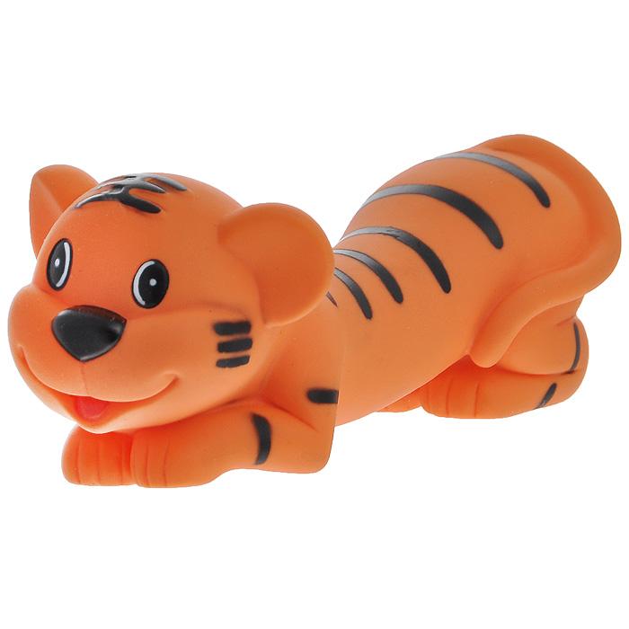 Игрушка для собак Ziver Тигр папа, с пищалкой, цвет: оранжевый, длина 16 см40.ZV.063Игрушка для собак Ziver Тигр папа изготовлена из винила и латекса с использованием только безопасных, не токсичных красителей. Забавный лежащий тигр при надавливании или захвате пастью пищит. Привлечет внимание вашего любимца, позволит весело провести ему время, не навредит здоровью, а также поможет вам сохранить в целости личные вещи и предметы интерьера.Размер: 16 см х 6 см х 6 см.