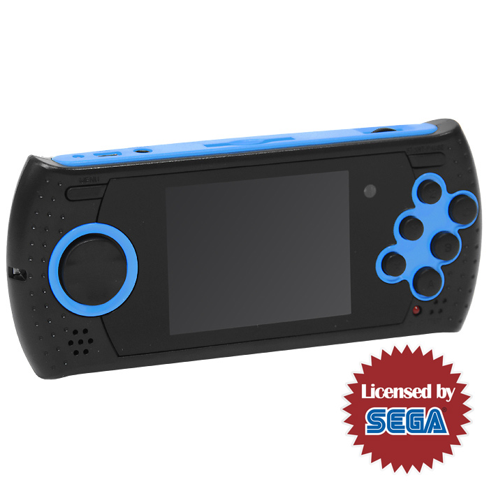 Sega Genesis Gopher Wireless (черно-голубая)