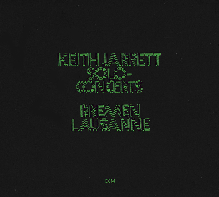 Keith Jarrett. Solo Concerts (2 CD)