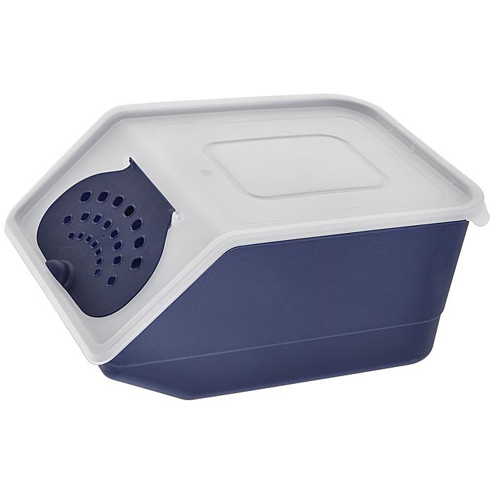 Контейнер для овощей Полимербыт, цвет: прозрачный, синий, 7,6 л820Пластиковый контейнер для овощей Полимербыт выполнен из пищевого пластика и изготовлен таким образом, что позволяет овощам и фруктам дышать, обеспечивая их длительную свежесть. Изделие легкое и компактное, в то же время вместительное, прекрасно впишется в пространство вашей кухни.Объем: 7,6 л.