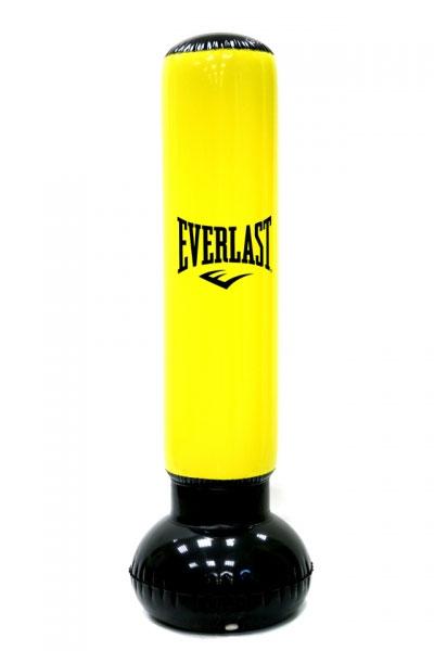 Мешок надувной Everlast Power Tower, цвет:  желтый, черный, 160 см Everlast