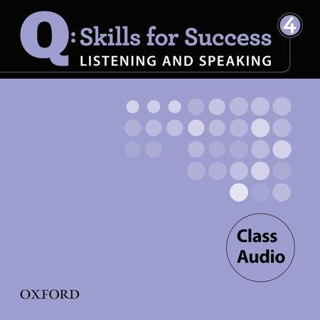 Q SKILLS FOR SUCCESS L&S 4 Cl CD(4) (AM)
