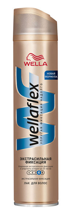 Wellaflex Лак для волос, экстрасильная фиксация, 250 млWF-81145201Лак для волос Wellaflex экстрасильной фиксации обеспечивает надежную фиксацию, сохраняя упругость прически до 24 часов. Не склеивает волосы. Сохраняет эластичность волос, не сушит их. Помогает защитить от УФ-лучей. Характеристики:Объем: 250 мл. Производитель: Франция. Товар сертифицирован.