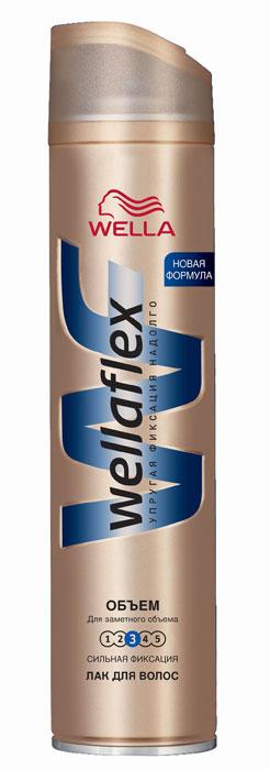 Wellaflex Лак для волос Длительная поддержка объема, сильная фиксация, 250 млWF-81145210Лак для волос Wellaflex Длительная поддержка объема сильной фиксации обеспечивает упругую фиксацию и заметный объем прически до 24 часов. Формула Запас Объема и гибкости образует на волосах структуру, которая, пружиня, помогает поддерживать длительный объем прически. Не склеивает волосы. Помогает сохранить эластичность волос и защитить их от УФ-лучей. Характеристики:Объем: 250 мл. Производитель: Франция. Товар сертифицирован.